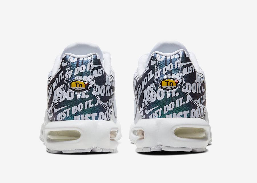Nike Air Max Plus TN SE Just Do It CJ9697-100 Release Info