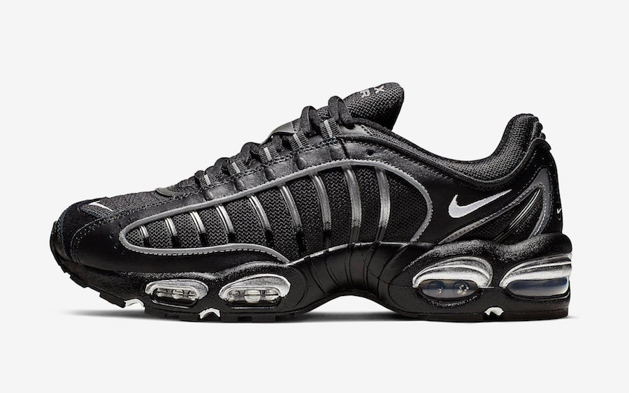 online retailer 25952 59662 Nike Air Max Tailwind 4 Black Silver AQ2567-003 Release Info