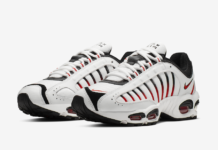reputable site e9387 dffbe Nike Air Max Tailwind 4 Coming Soon in White, Black and Red