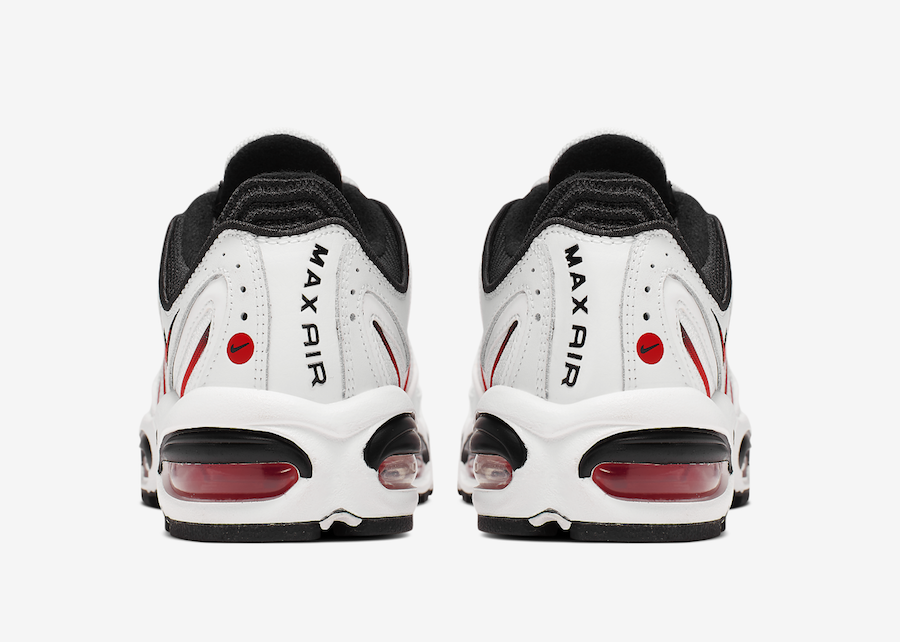 Nike Air Max Tailwind 4 White Black Red AQ2567-104 Release Info