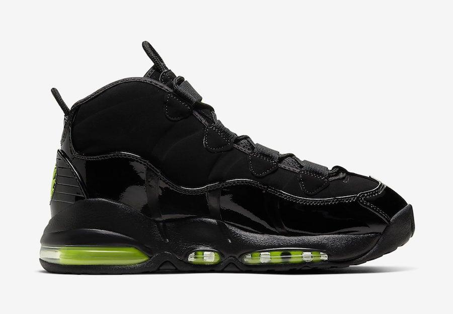 Nike Air Max Uptempo Black Volt CK0892-001 Release Date