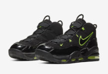 Nike Air Max Uptempo Black Volt CK0892-001 Release Date