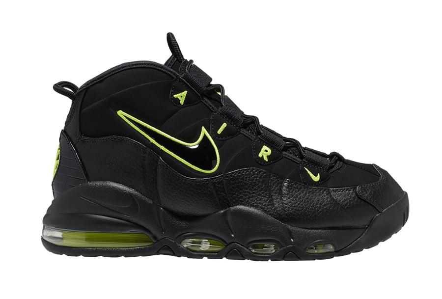 Nike Air Max Uptempo Black Volt CK0892-001 Release Info
