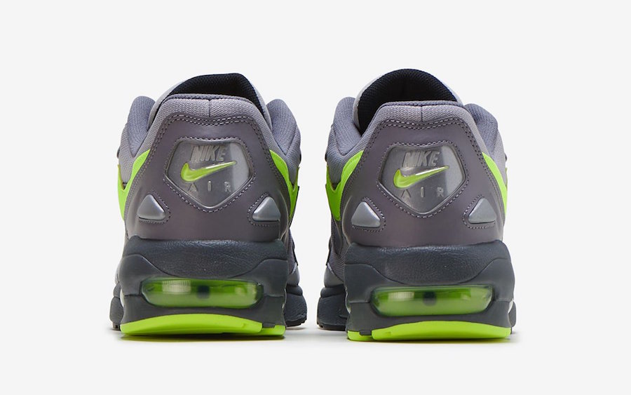 Nike Air Max2 Light Gunsmoke Volt CJ0547-001 Release Info