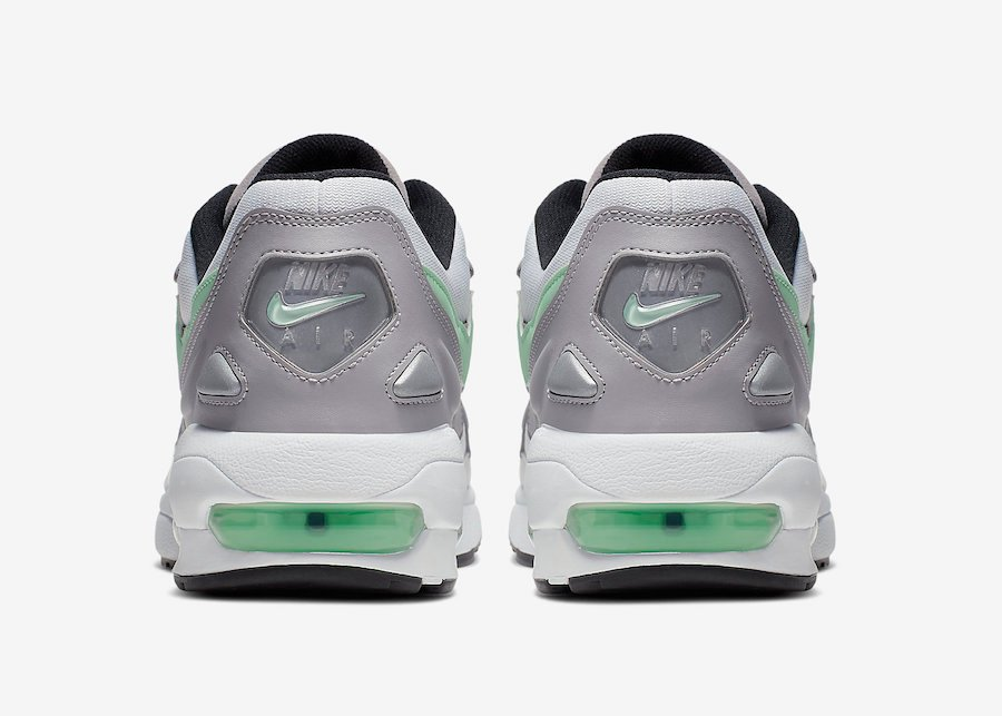 Nike Air Max2 Light Vast Grey Fresh Mint CJ0523-100 Release Info