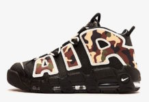 Nike Air More Uptempo Black Camo CJ6122-001 Release Info