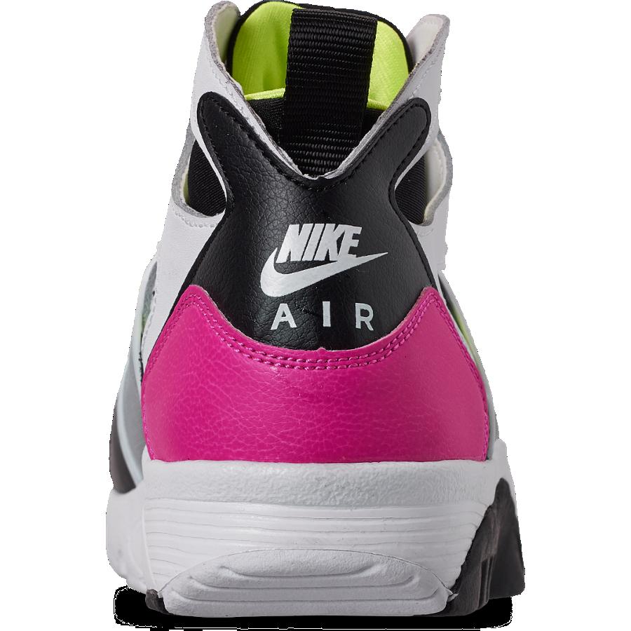 Nike Air Trainer Huarache Laser Fuchsia Volt 679083-109 Release Info