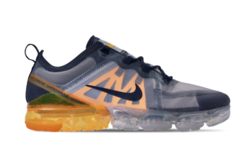 Nike Air VaporMax 2019 Midnight Navy Laser Orange AR6631-401 Release Info