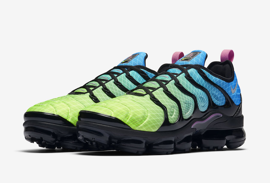san francisco c4b01 8519c Nike Air VaporMax Plus Aurora Green 924453-302 Release Info ...