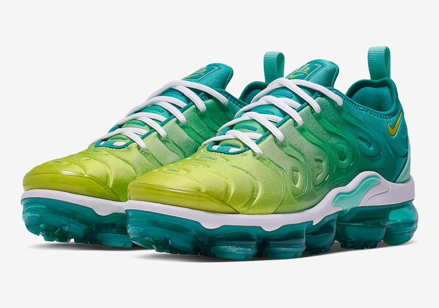 Nike Air VaporMax Plus Lemon Lime CI9900-300 Release Info