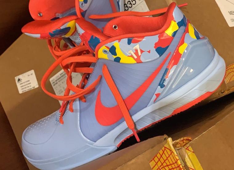 Nike Kobe 4 Protro Camo PJ Tucker PE