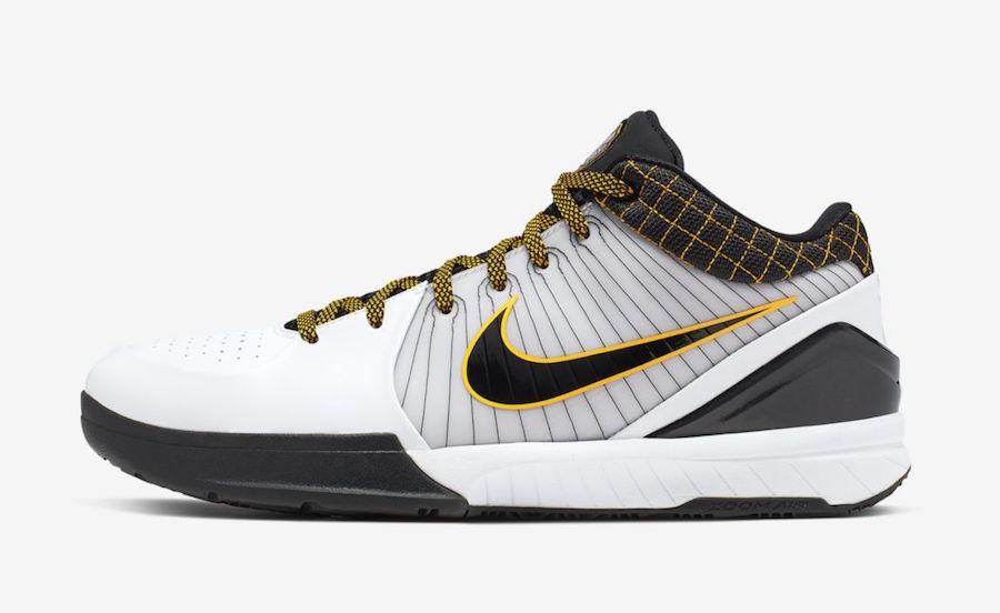 Nike Kobe 4 Protro Del Sol AV6339-101 Release Info