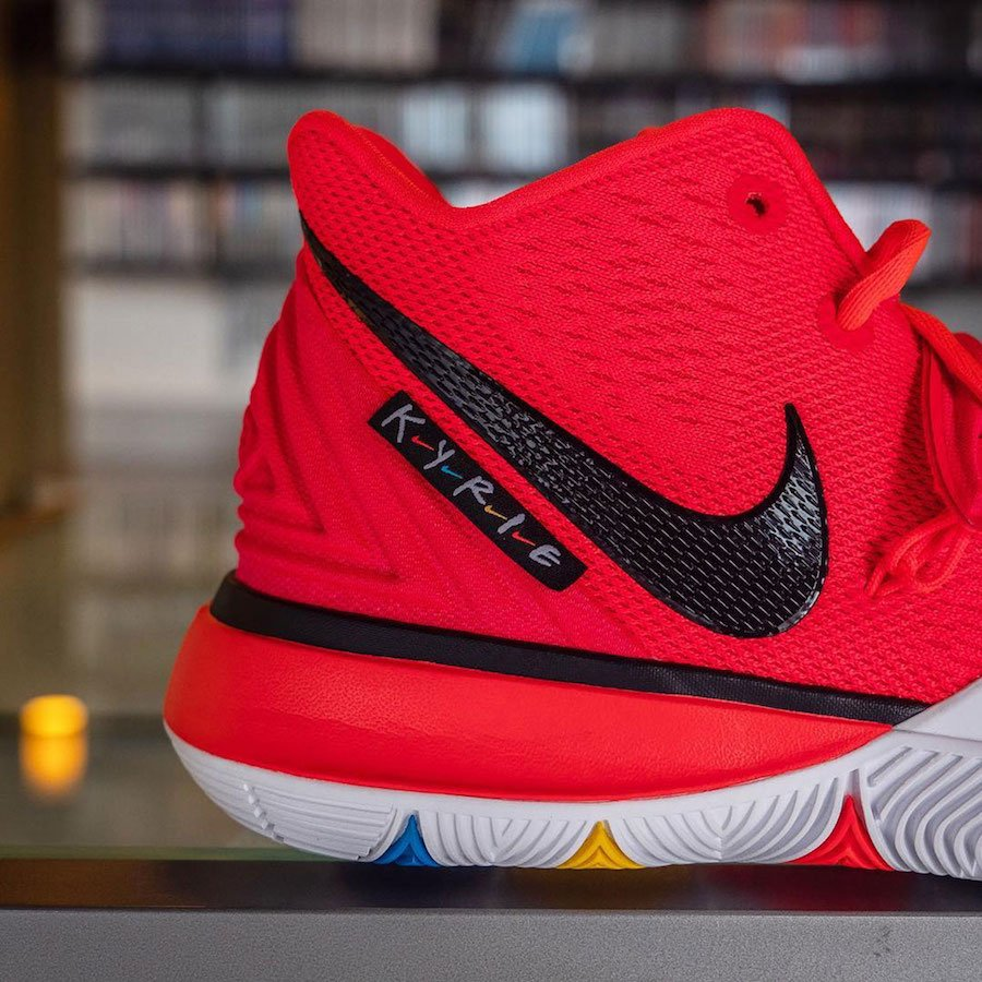 Nike Kyrie 5 Friends Red Sample Release Info