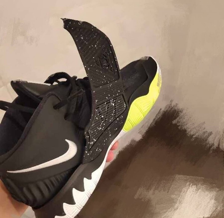 Nike Kyrie 6 Black White Yellow
