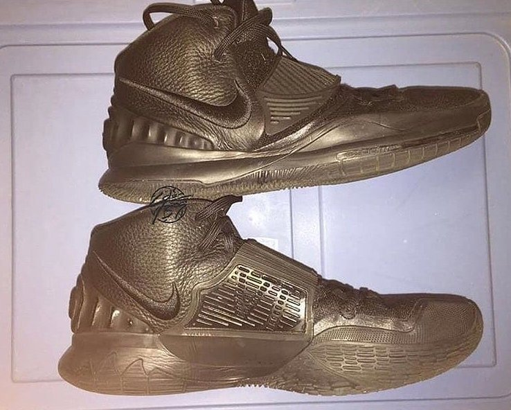 Nike Kyrie 6 Triple Black Sample