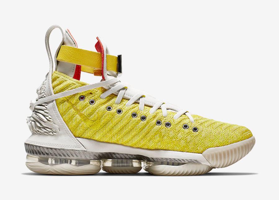 Nike LeBron 16 HFR Bright Citron CI1145-700 Release Info