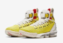 1599652d7df55 Nike LeBron 16 HFR in  Bright Citron  Releasing Fall 2019