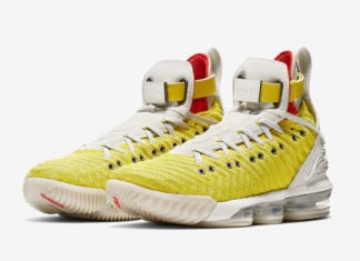 04f316ea92d Nike LeBron 16 HFR in  Bright Citron  Releasing Fall 2019