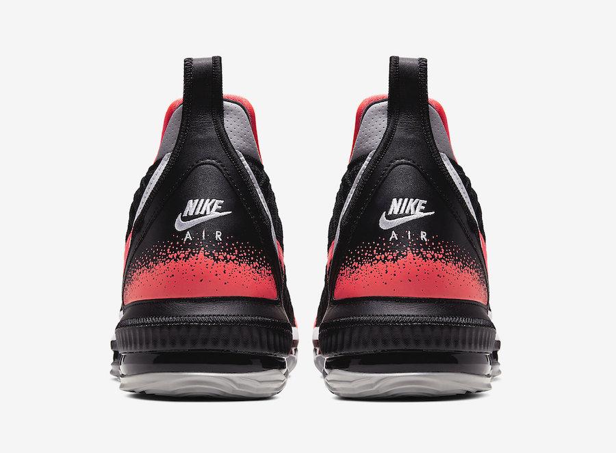 Nike LeBron 16 Hot Lava Black Release Info