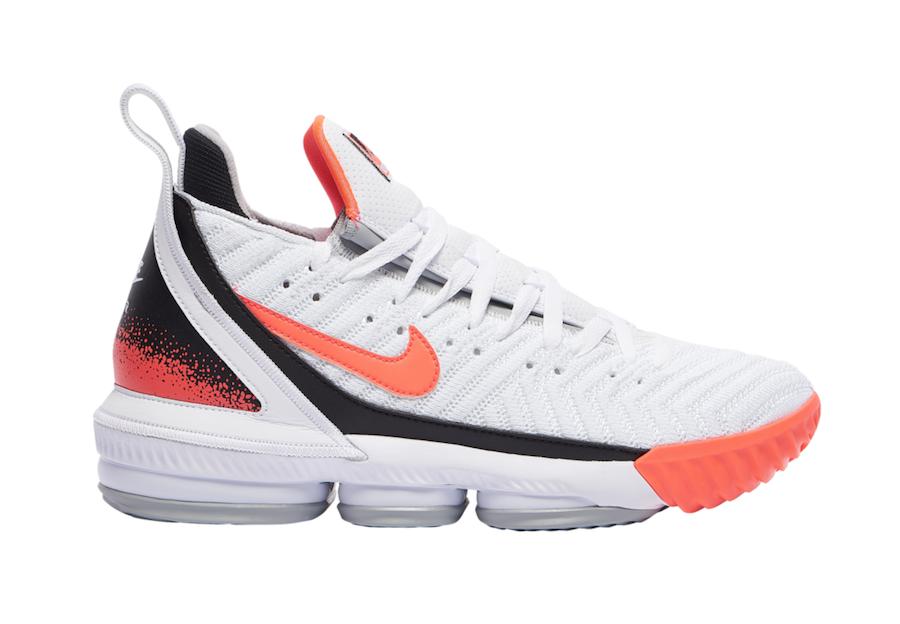 c1a31e1fd62a Nike LeBron 16 Hot Lava CI1521-100 Release Info