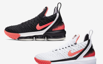 hot sale online 2544f a07f4 Nike LeBron 16  Hot Lava  Releasing in Two Colorways