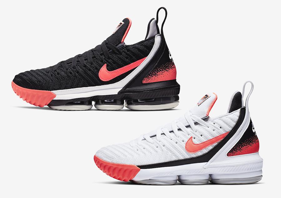 Nike LeBron 16 Hot Lava CI1521-100