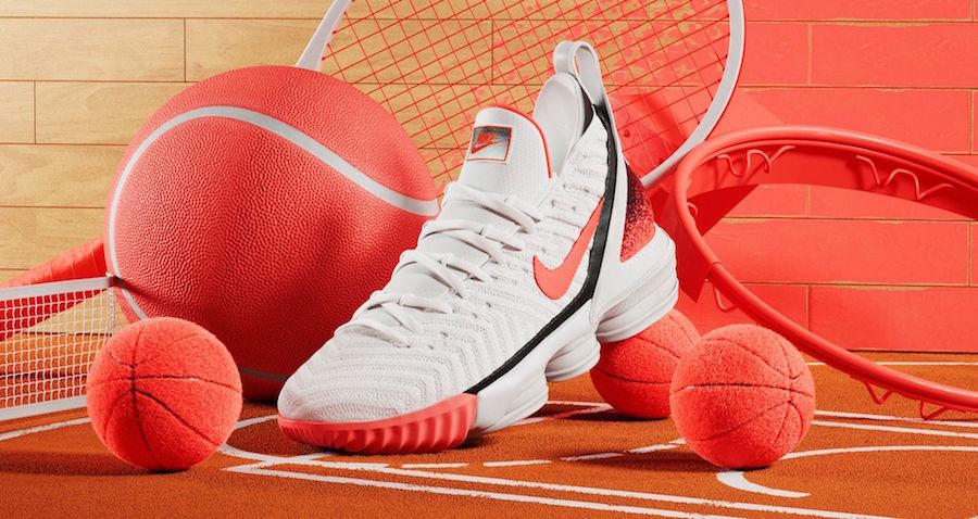 Nike LeBron 16 Hot Lava White Release Info