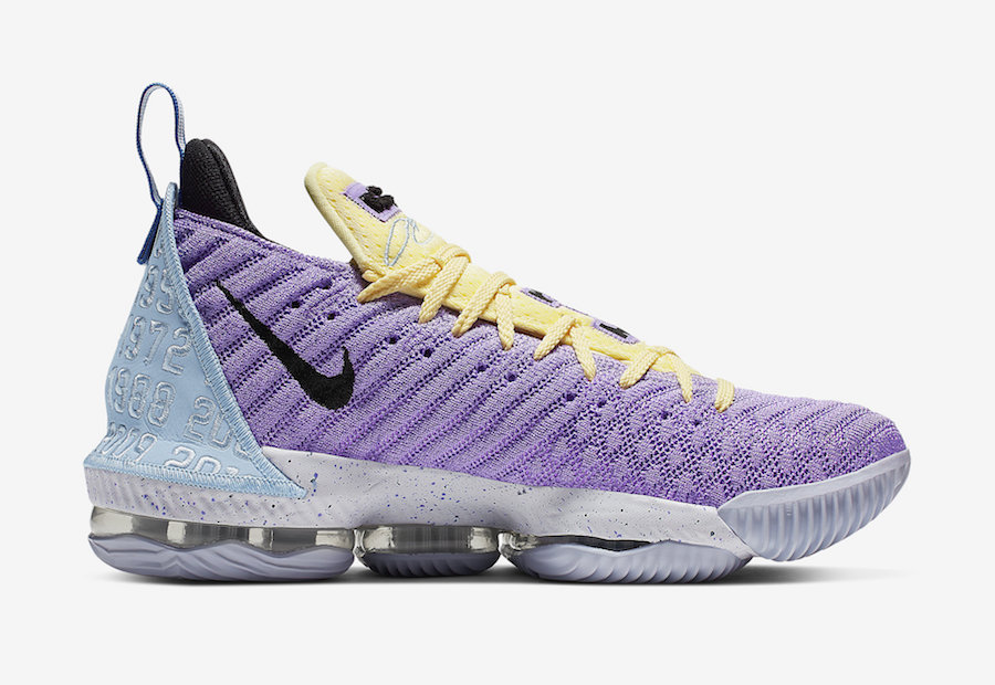 Nike LeBron 16 Lakers CK4765-500 Release Details