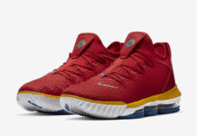 cc81ef3e54e3 Nike LeBron 16 Air Trainer Medicine Ball CD7089-100 Release Date ...