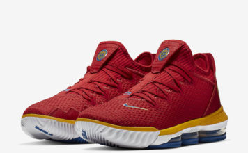 9e4800d99fcc80 Nike LeBron 16 Low Releasing in  SuperBron  Theme