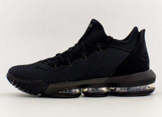 Nike LeBron 16 Low Triple Black CI2668-002 Release Info