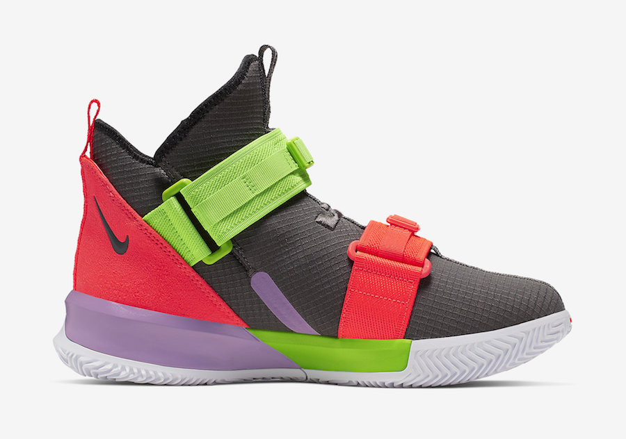 Nike LeBron Soldier 13 Thunder Grey AR4228-002 Release Date
