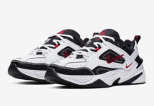 Nike M2K Tekno White Black University Red AV4789-104 Release Info