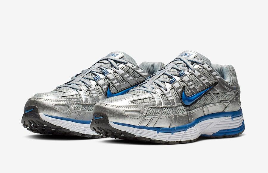more photos 5f33e 3d991 Nike P-6000 Metallic Silver Laser Blue BV1021-001 Release Info