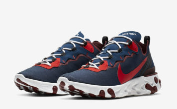 Nike React Element 55 Rabid Panda CJ0769-400 Release Info