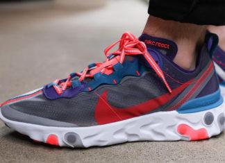 Nike React Element 87 Red Orbit CJ6897-061 Release Info