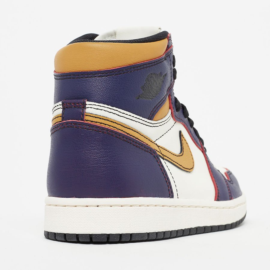 Nike SB Air Jordan 1 Lakers CD6578-507 Release Date Info