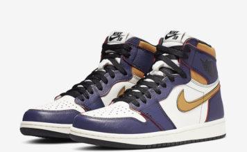 Nike SB Air Jordan 1 Lakers CD6578-507 Release Date Info