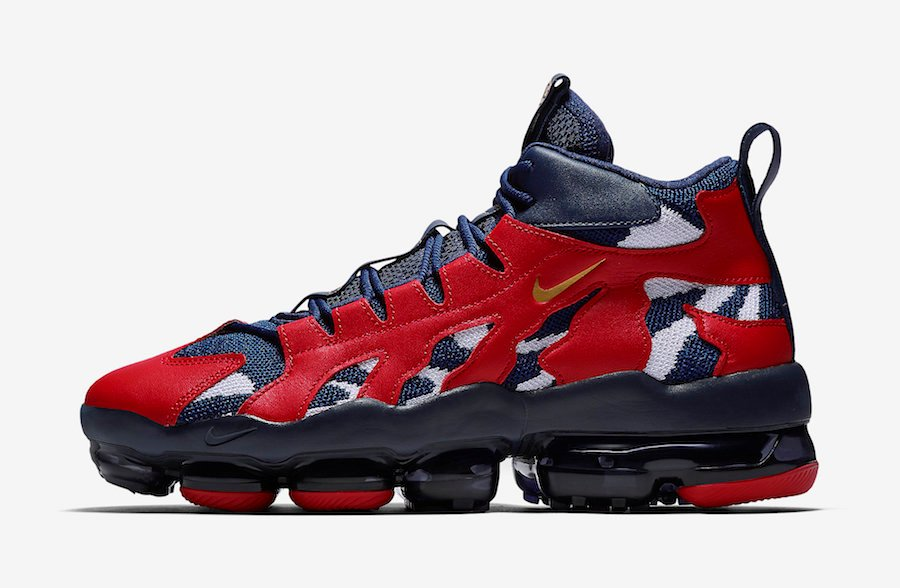 Nike VaporMax Gliese Midnight Navy Gym Red AO2445-400 Release Info
