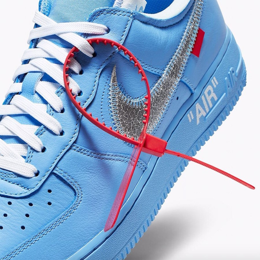 Off-White Nike Air Force 1 Low MCA Blue Release Info