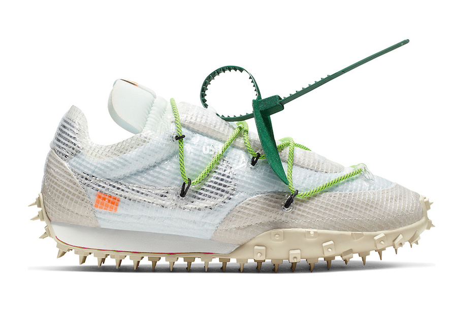 Off-White Nike Waffle Racer CD8180-100 Release Date