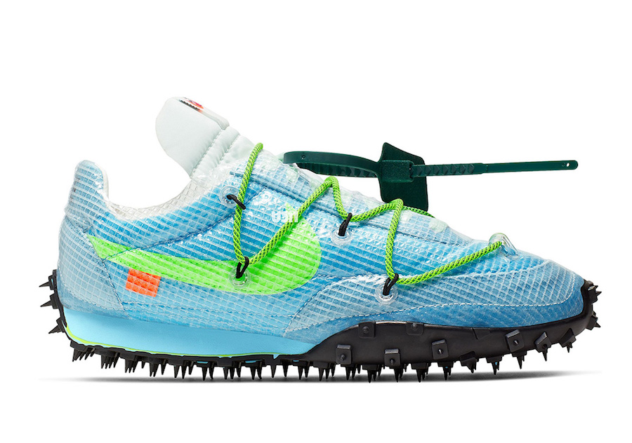 Off-White Nike Waffle Racer CD8180-400 Release Date