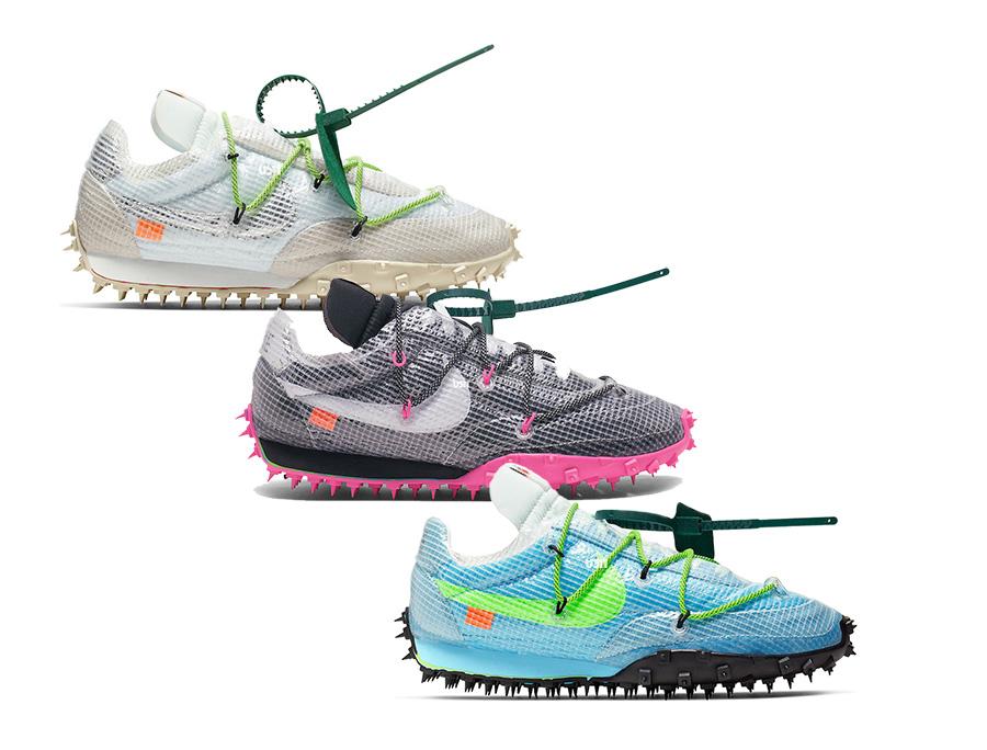 pretty nice d20b3 57b11 Off-White Nike Waffle Racer Release Info | SneakerFiles