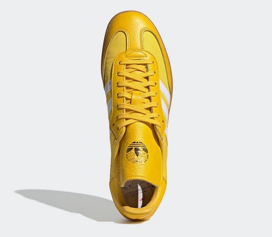 Oyster Holdings adidas Samba OG Yellow G26699 Release Info