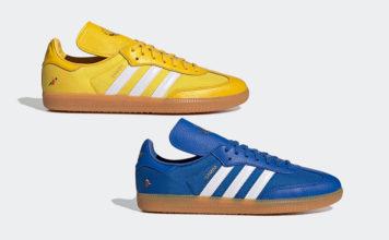 Oyster Holdings adidas Samba OG Yellow Blue