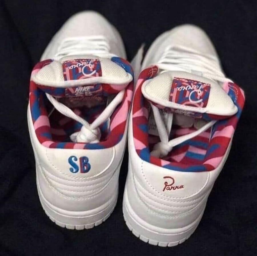 Parra Nike SB Dunk Low Release Info