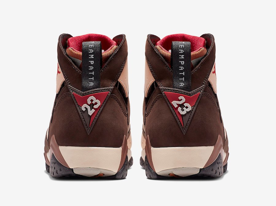 Patta Air Jordan 7 AT3375-200 Release Details