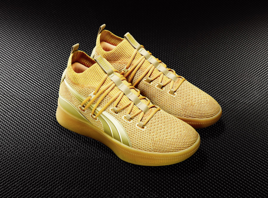Puma Clyde Court Title Run Gold Release Info