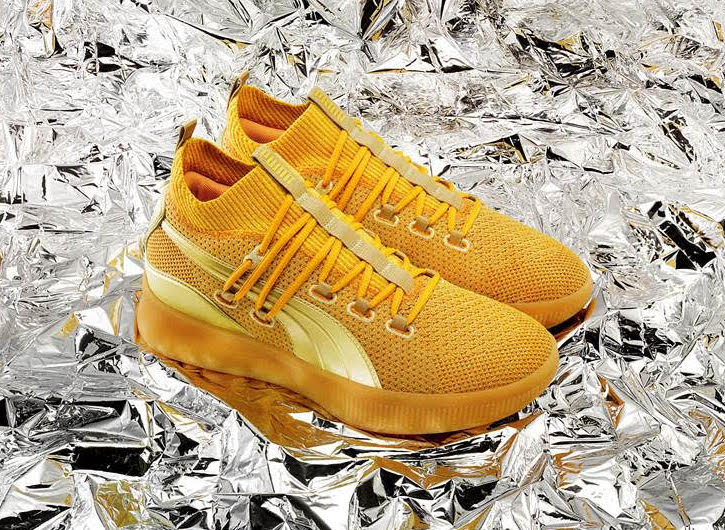 Puma Clyde Court Title Run Gold Release Info