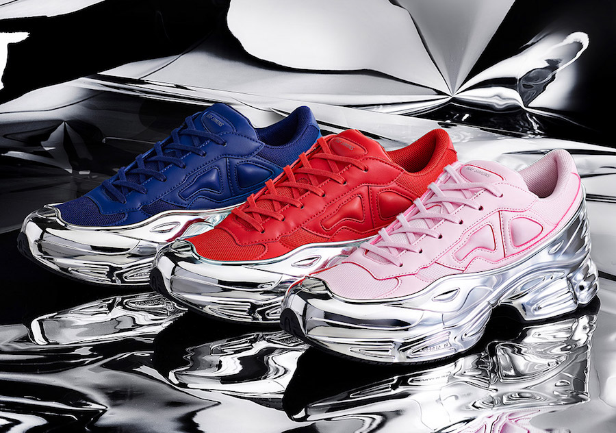 Raf Simons adidas Ozweego Mirrored Pack Release Info